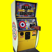 sharp shooter arcade game hire